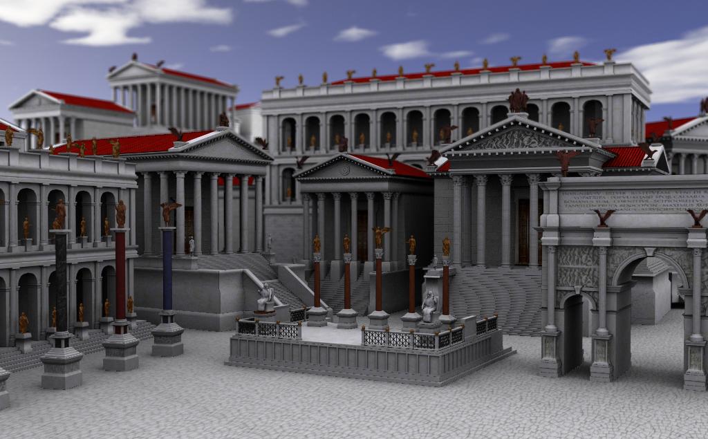 Reconstructie antieke Rome - Rowdysign