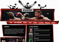 Live website gevuld met echte content